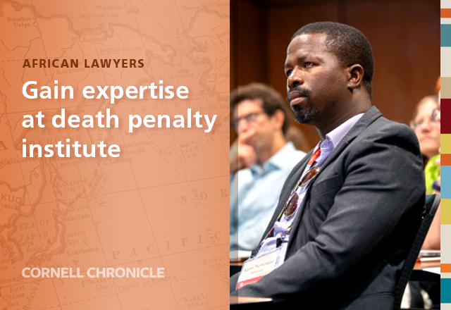 African Lawyers Gain Expertise at Death Penalty Institute