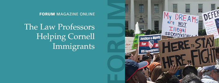 FORUM: The Law Professors Helping Cornell Immigrants
