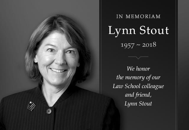 Professor Lynn Stout