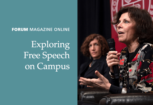 Forum Magazine Online: Exploring Free Speech on Campus