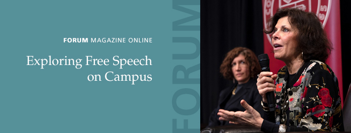 Forum Magazine Online: Exploring Free Speech on Campus