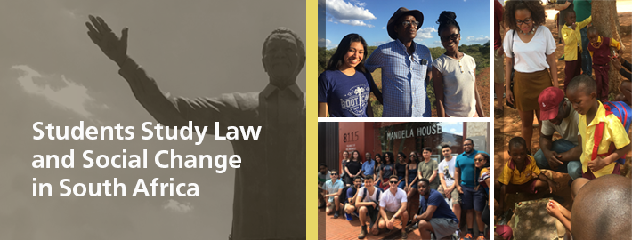 Students Study Law and Social Change in South Africa